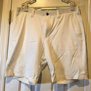 Under Armour White Golf Shorts